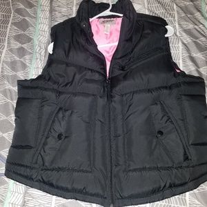Black Womens Insulated Vest